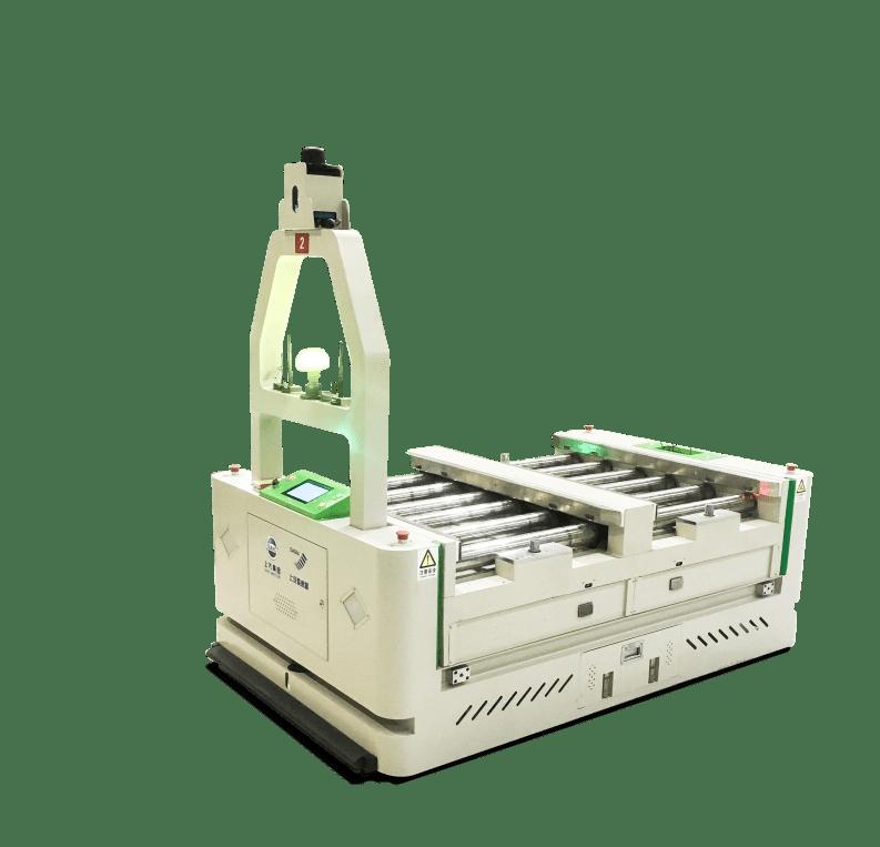 AGV s možnosťou obojsmerného pohybu